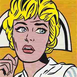 Roy Lichtenstein Nurse Lithograph