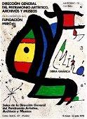 Joan Miro Obra Grafica 1978 Madrid Lithograph on Paper