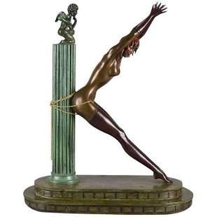 Erte - Prisoner of Love Limited Edition Sculpture