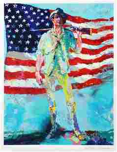Leroy Neiman - The Minuteman LE Hand Signed Serigraph