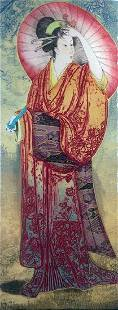 "MIKULAS KRAVJANSKY ""SPRINGTIME I"" 1996 HS/N"
