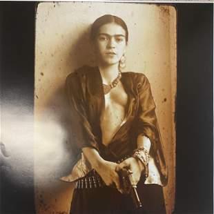 Robert Toren- Frida Kahlo Donna Thayer Composite FRAMED