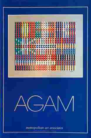 Agam Flags of All Nations Mixed Media Serigraph