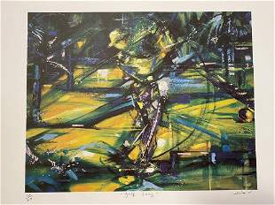 Duaiv Golf Swing LE Lithograph on Paper