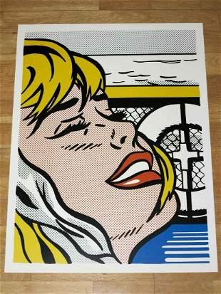 Roy Lichtenstein Shipboard Lithograph