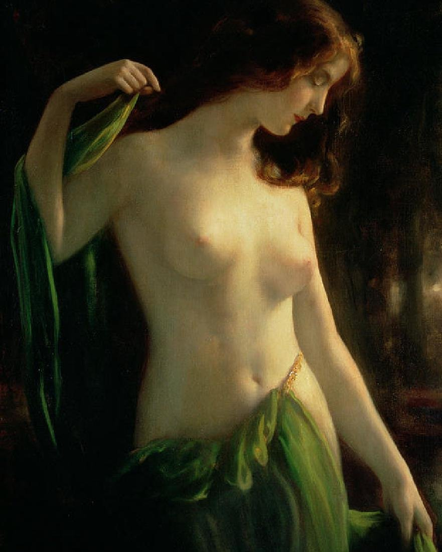 Water Nymph Canvas Painting