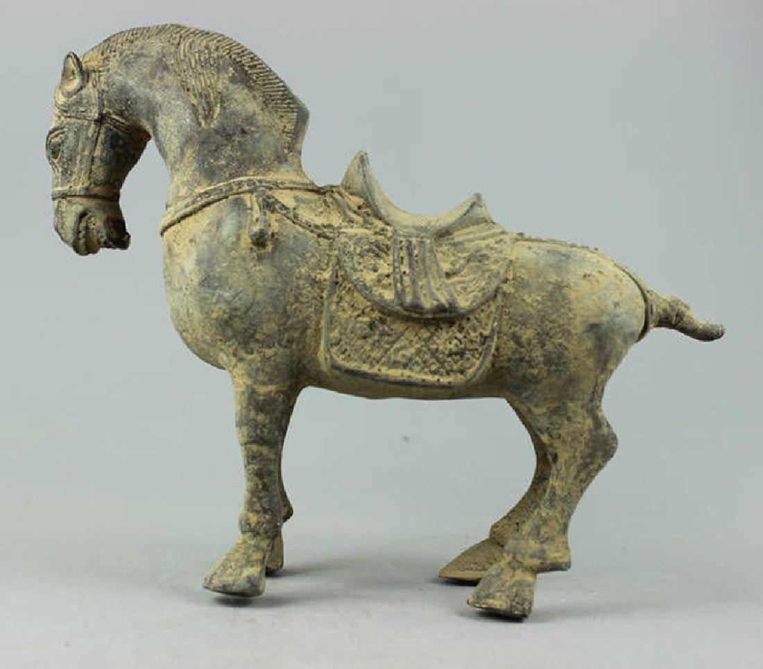 Collectible Decorated Old Handwork Bronze sculpture