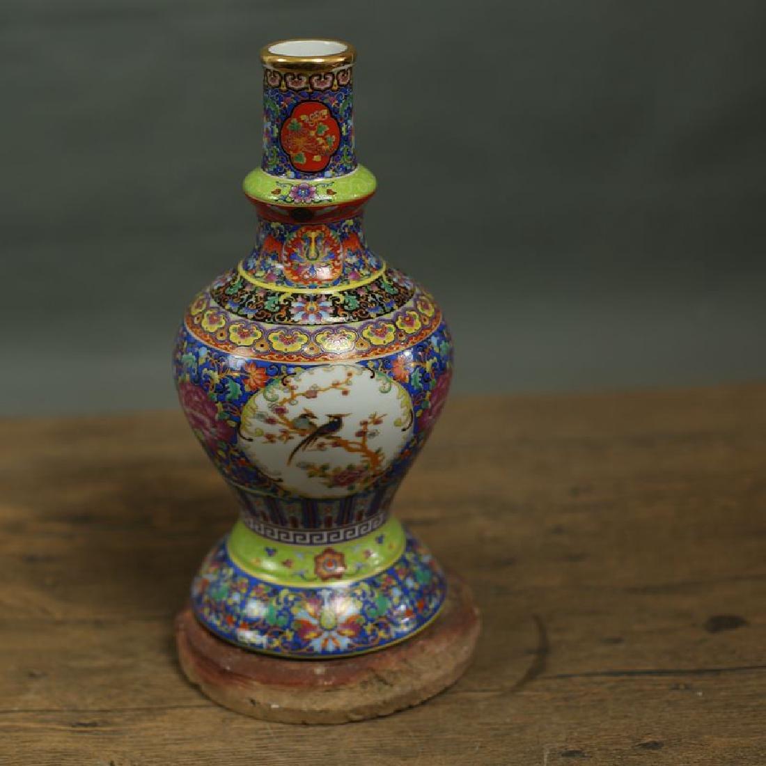 Chinese Qing Dynasty Yongzheng Time Jingdezhen Colorful - 2