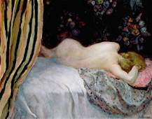 Sleeping Woman Oil Painting