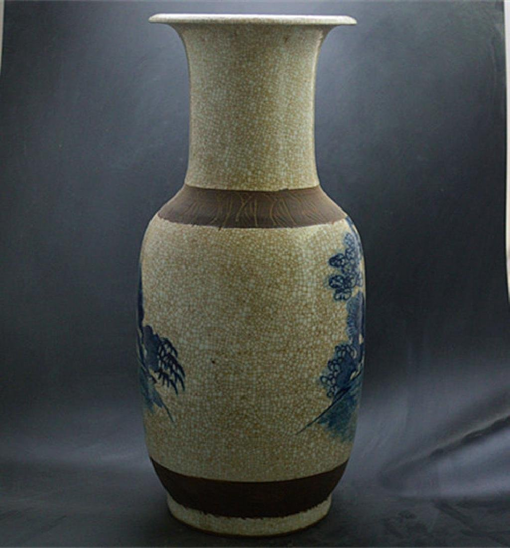 Chinese Ming Dynasty Chenghua Time Blue & White Glaze - 4