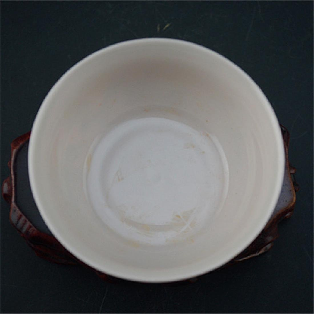 Chinese Ming Dynasty Chenghua Time Porcelain Cup With - 4