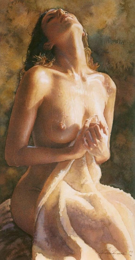 Naked / Nude Woman, 100% Hand Painted Oil Painting on