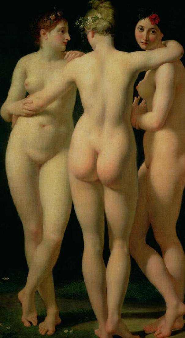 The Three Graces Oil Painting