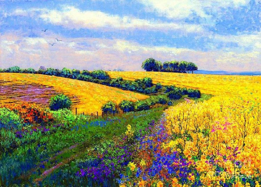 Fields Of Gold Oil Painting