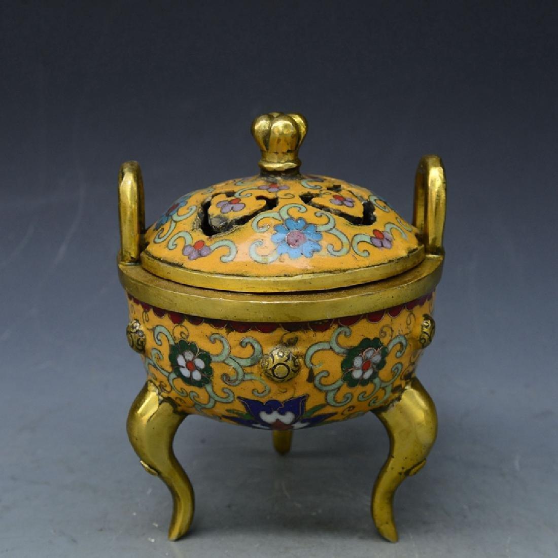 Chinese Antique Jingdezhen Yellow Glaze Porcelain