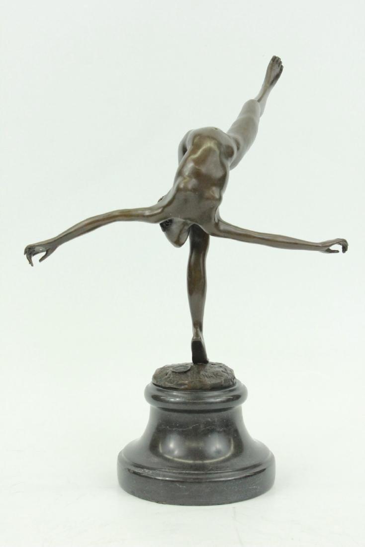 Sculpture Statue Original Art Deco Nude Talented