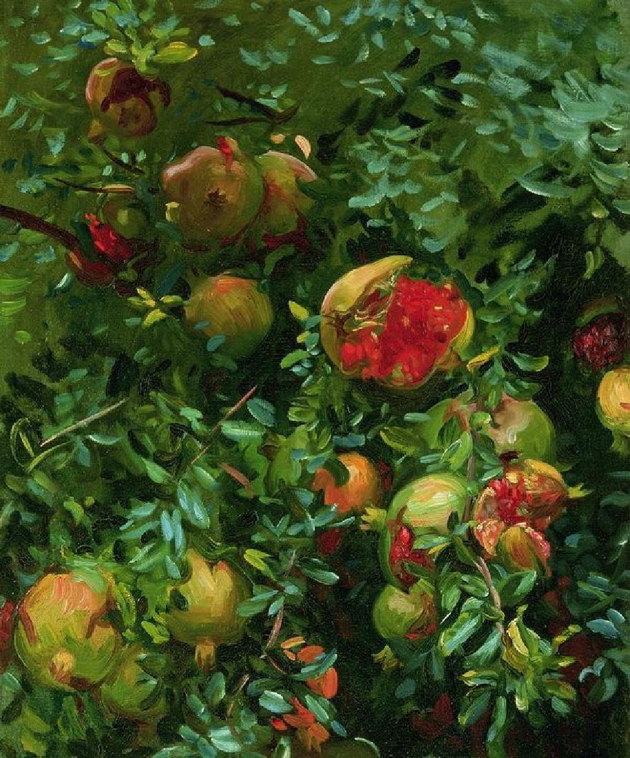 Pomegranates Majorca Oil Painting on Canvas