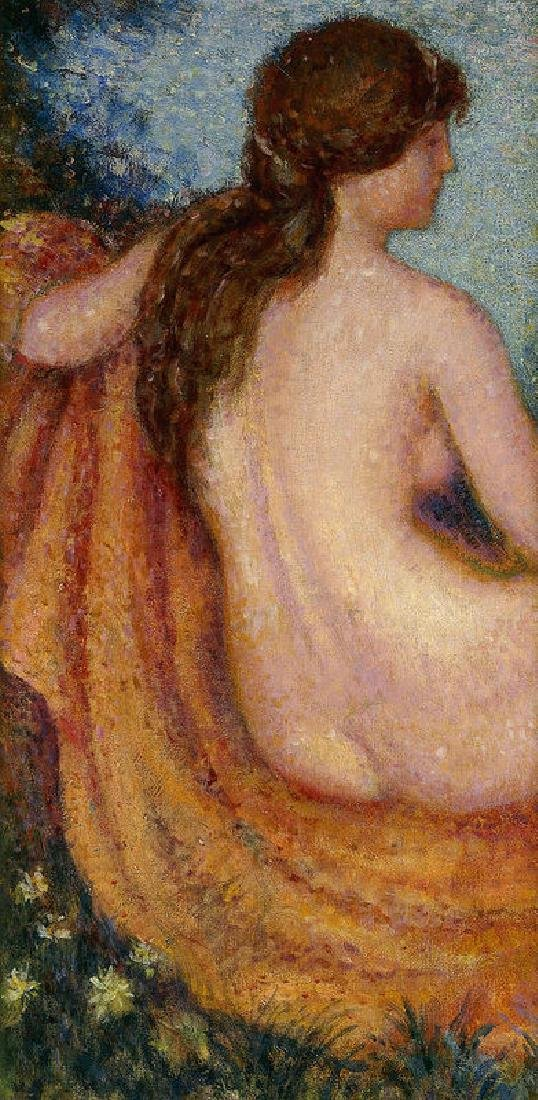 The Bather Oil Painting