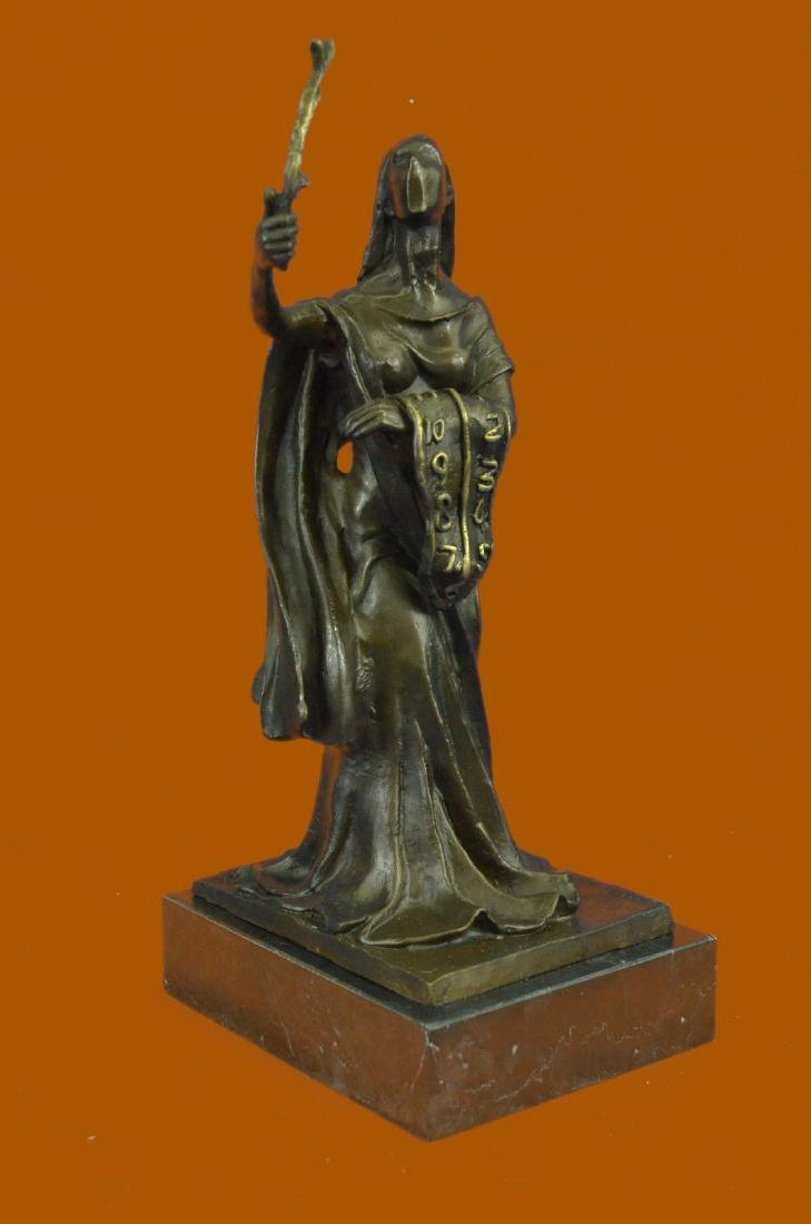 SALVADOR DALI HOMMAGE - BRONZE SCULPTURE - WOMAN OF