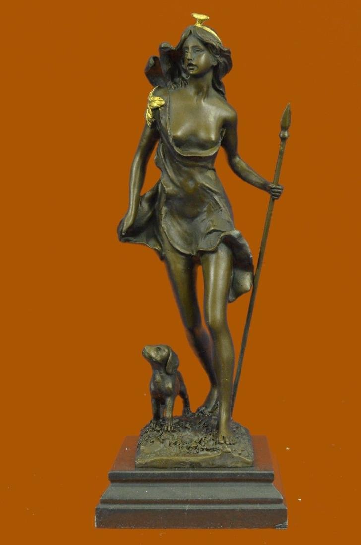Collectible Hot Cast Amazing Diana The Huntress Bronze