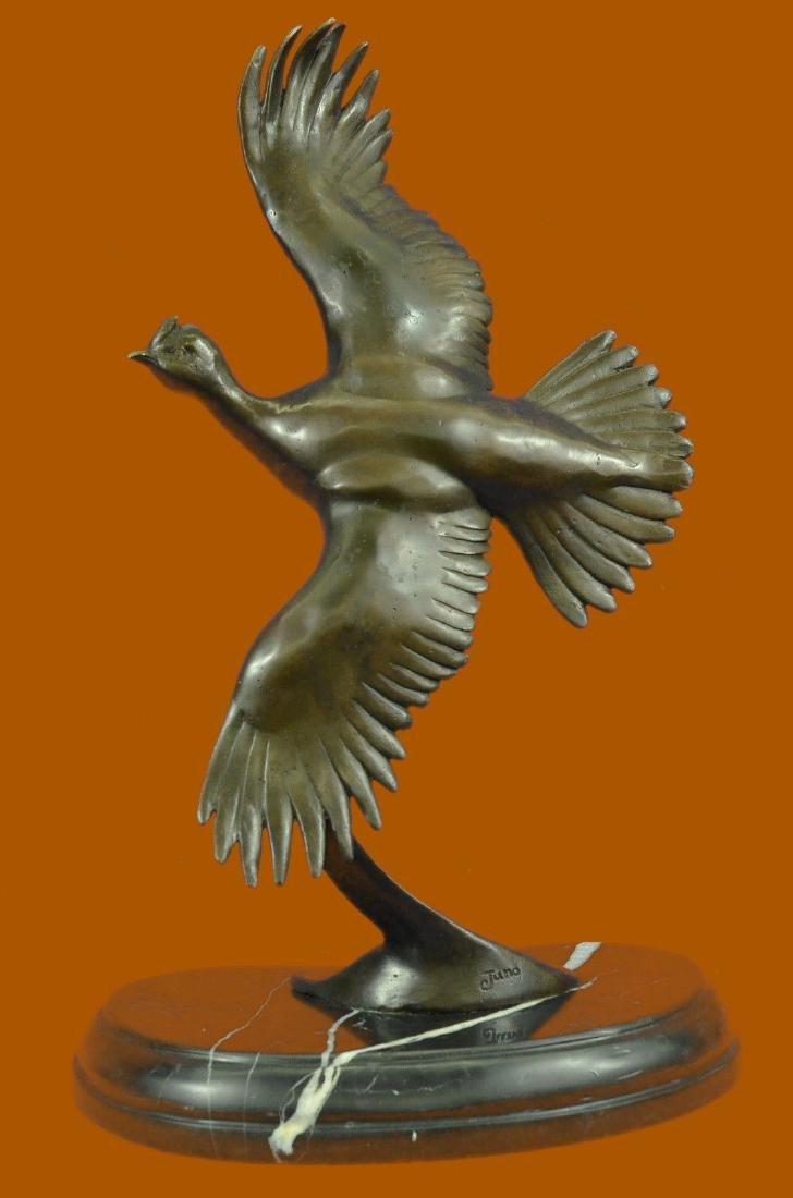 CLEARANCE SALE Female California Quail Bronze Sculpture
