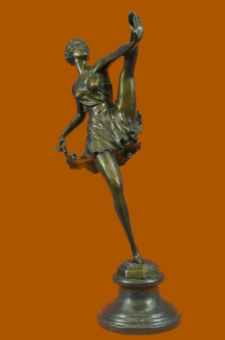 Bronze Sculpture The Russian Dancer Art Deco Hot Statue
