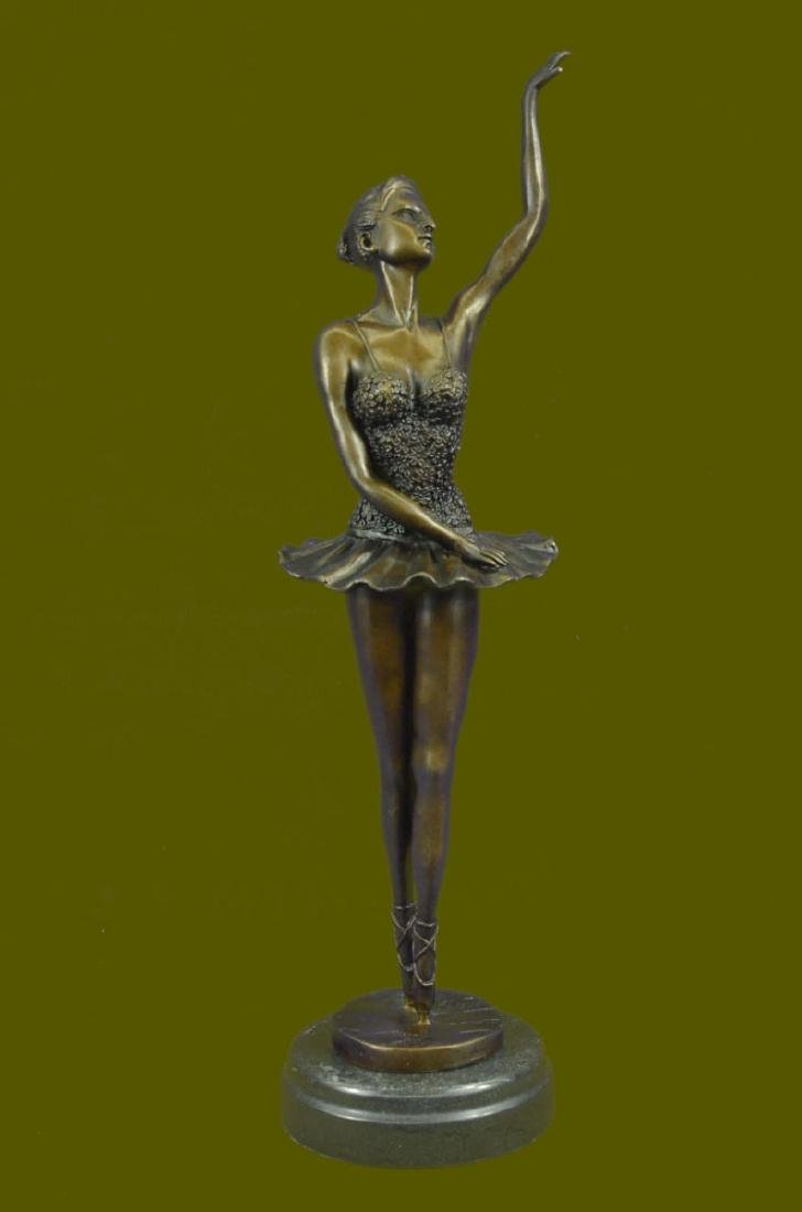 "16"" Tall Prima Ballerina by Chiparus Blue Patina Hot"
