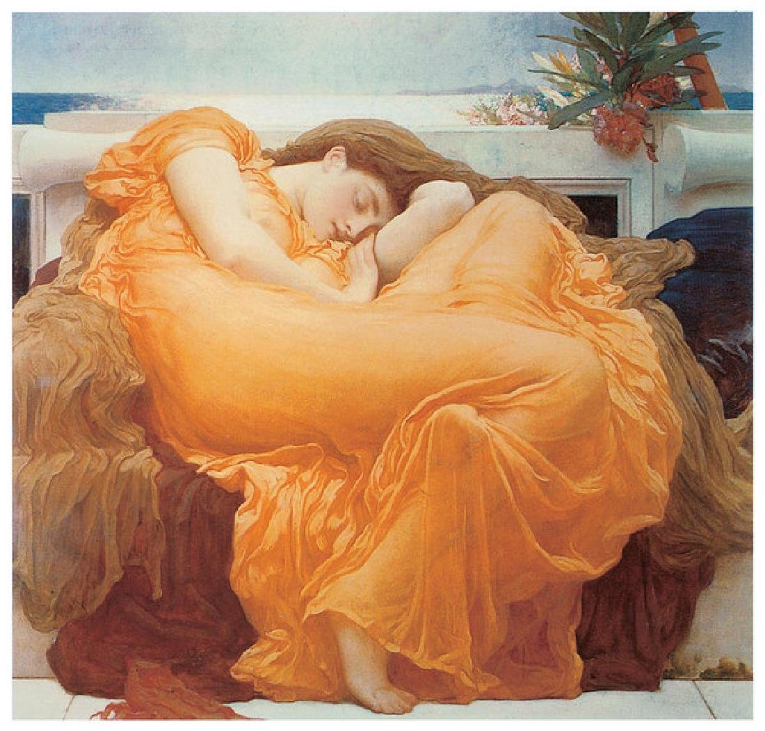 Flaming June Oil Painting on Canvas