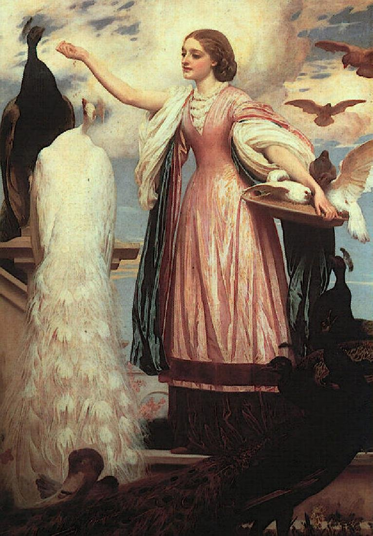 Lord Frederick Leighton Oil Painting on Canvas