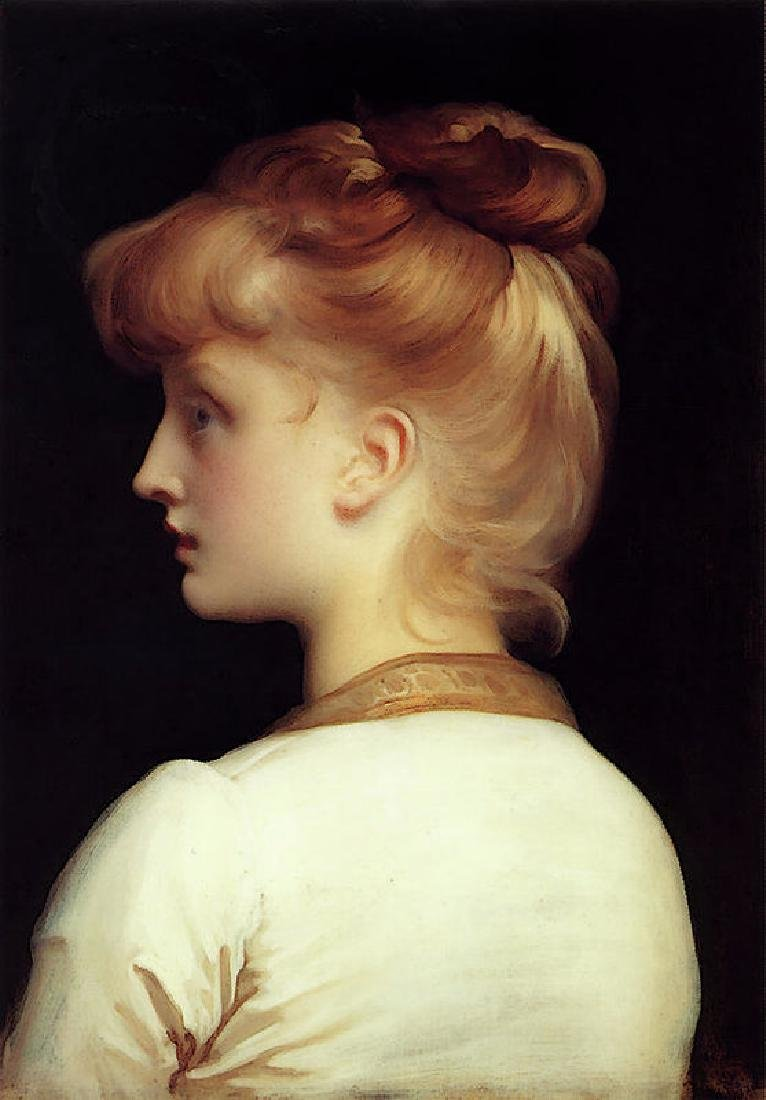 Leighton Lord Frederick Girl Oil Painting on Canvas