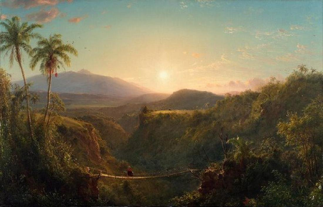 Frederic Edwin Church Oil Painting on Canvas