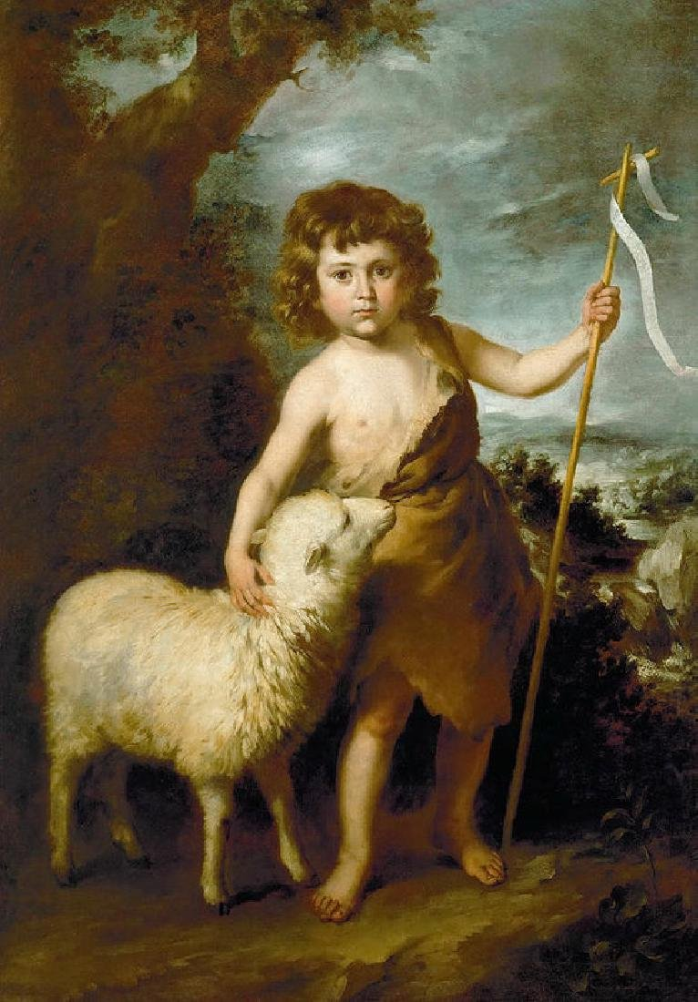 John The Baptist As A Child Oil Painting on Canvas