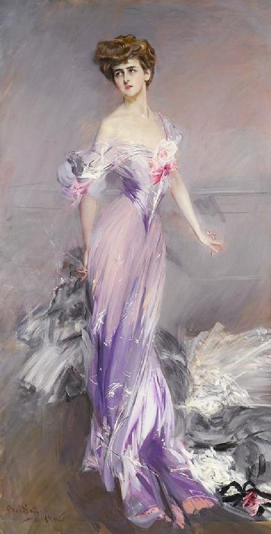 Mrs. Howard-johnston Oil Painting on Canvas