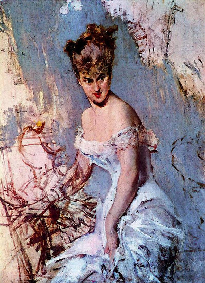 Giovanni Boldini Oil Painting on Canvas