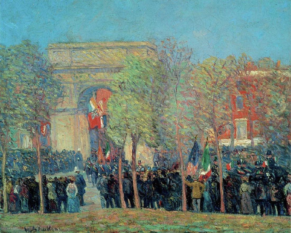 Italo American Celebration, Washington Square Oil