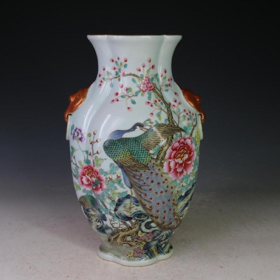Chinese Qing Dynasty Qianlong Time Colorful Enamel