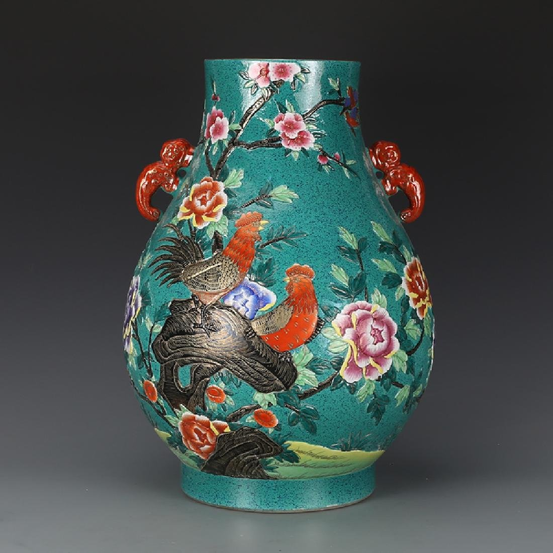Chinese Qing Dynasty Qianlong Time Famille-Rose