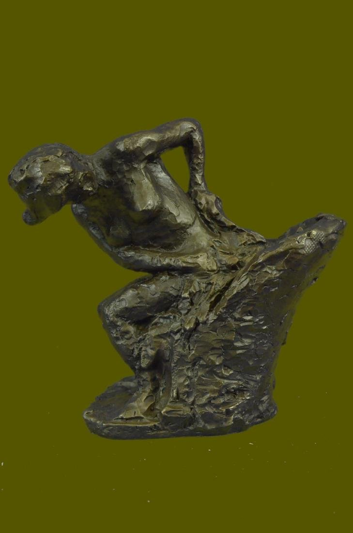 Handcrafted crafted Edgar Degas Bronze Sculpture of a
