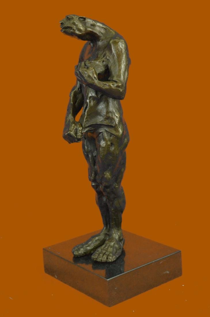 Female Creature Bronze Museum Quality Artwork Sculpture