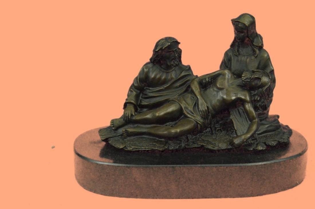 Handcrafted Body Bronze Sculpture Statue