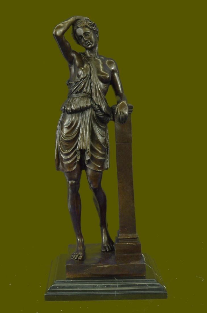Bronze Sculpture Hand Made Nude Naked Roman/Greek