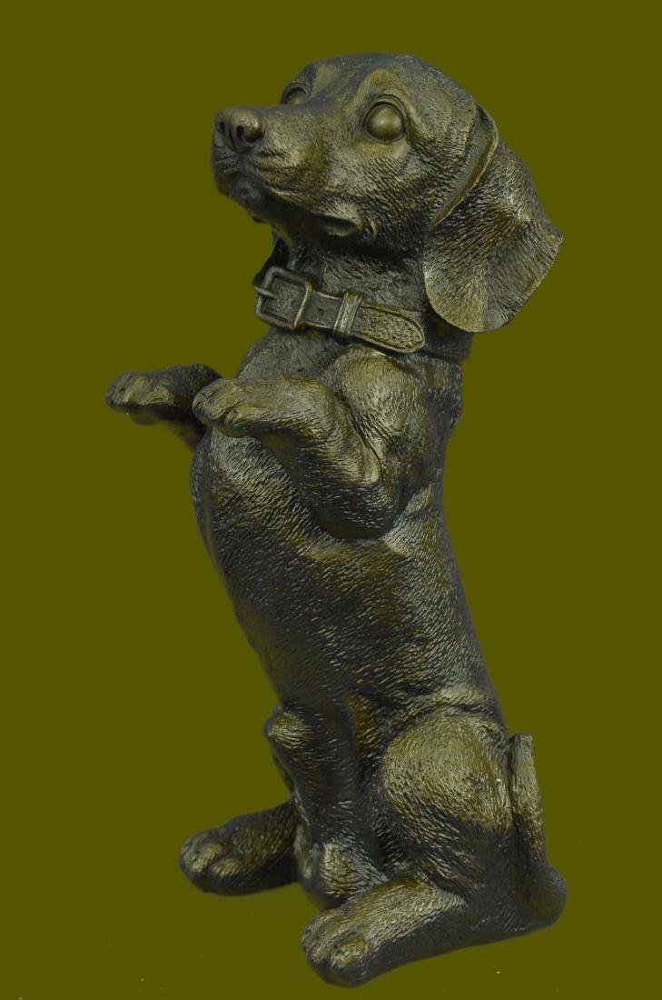 Signed Original Milo French sculpture Hot Cast Bronze