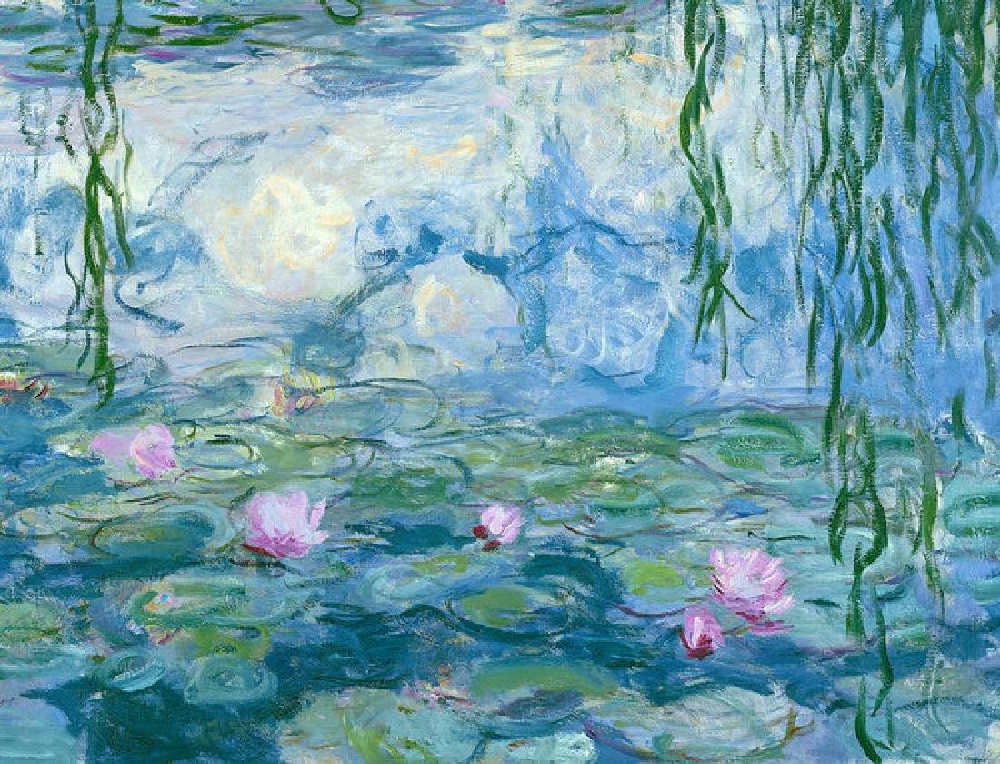Waterlilies Oil Painting
