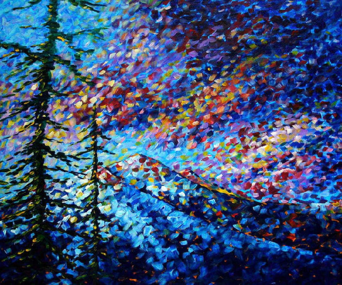 Original Abstract Impressionist Landscape Contemporary