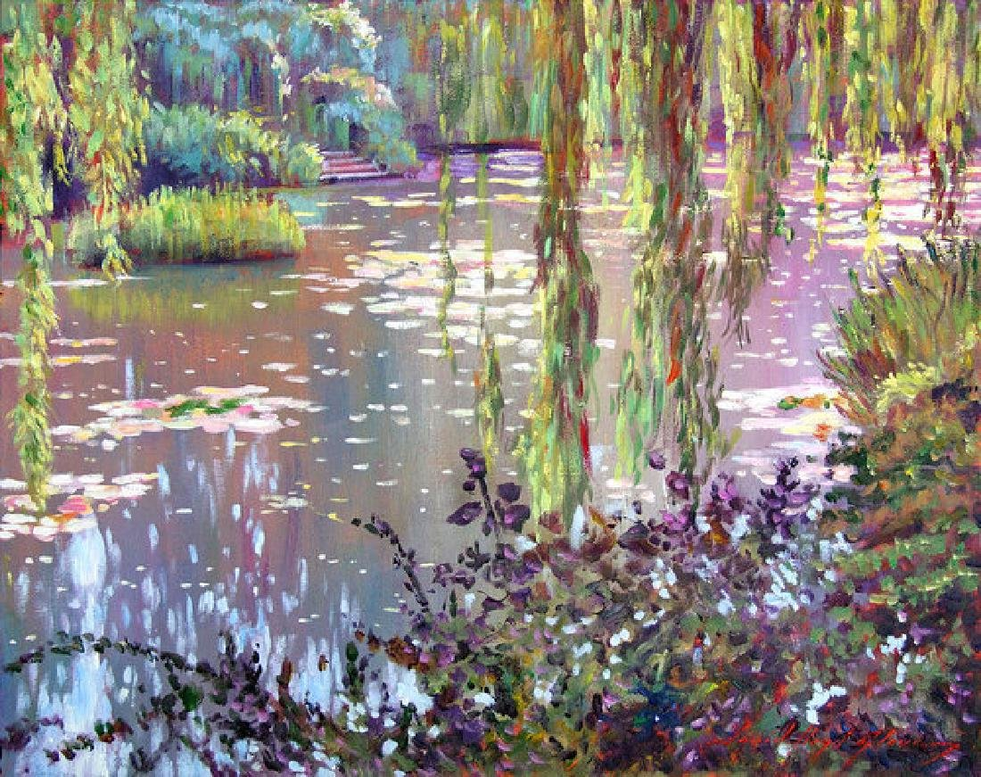 Homage To Monet Oil Painting
