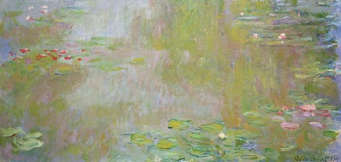 Waterlilies At Giverny Oil Painting