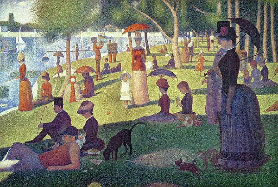 Sunday Afternoon On The Island Of La Grande Jatte Oil