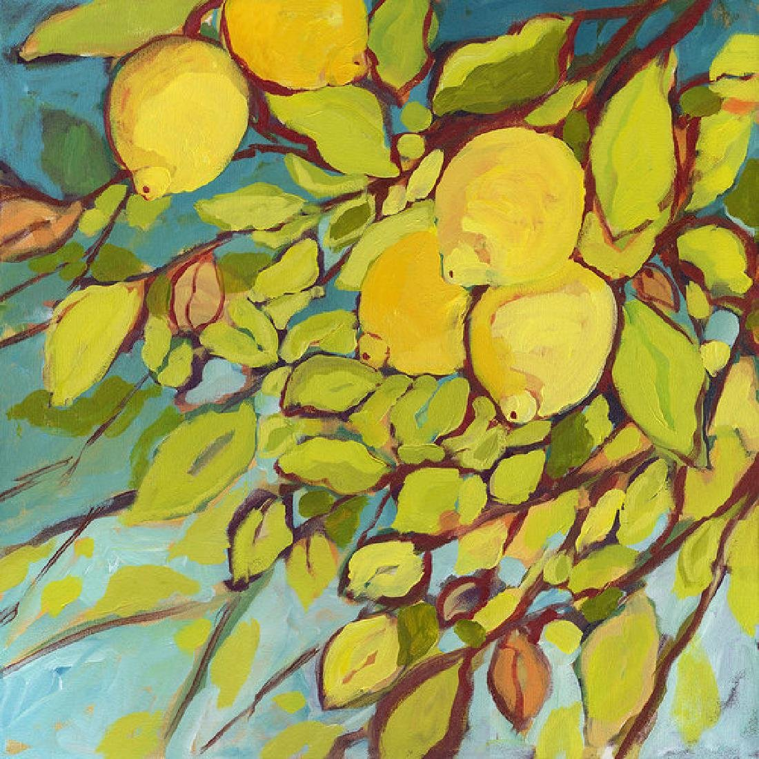 Five Lemons Oil Painting