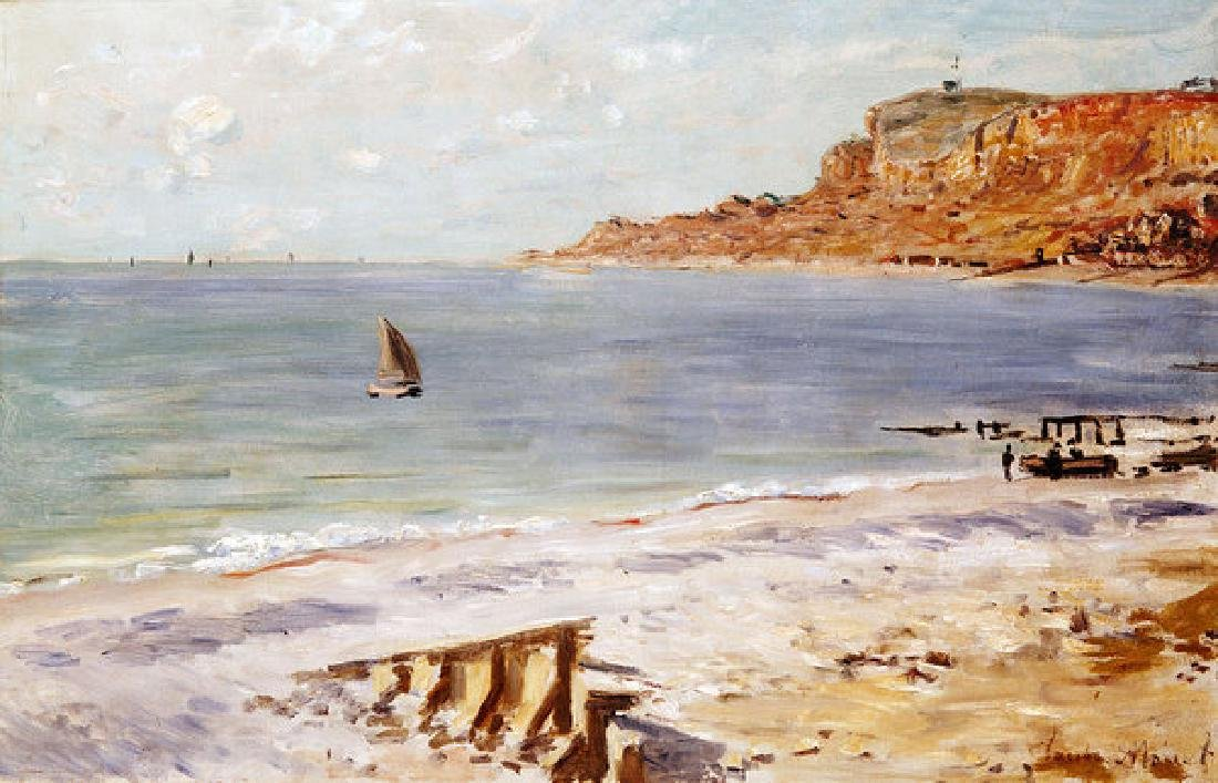 Seascape At Sainte Adresse Oil Painting