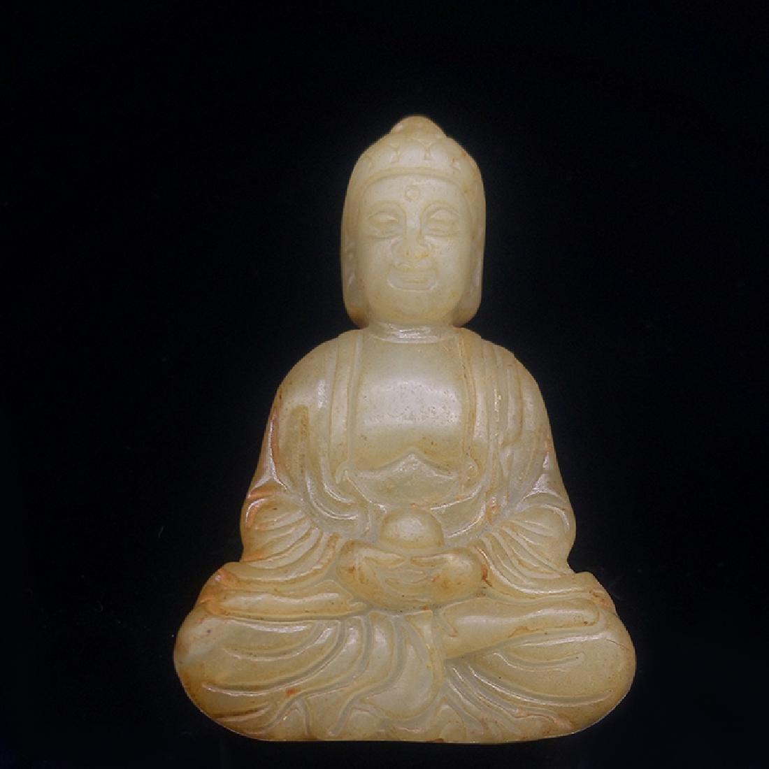 Xiuyan Jade Buddha Statue